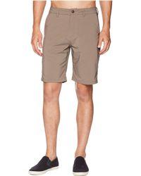 Quiksilver - Transit Twill 20 Amphibian Shorts (falcon) Men's Shorts - Lyst
