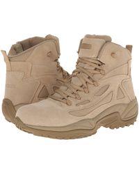 Reebok Rapid Response 6 (desert Tan) Men's Work Boots - Natural