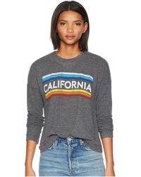 The Original Retro Brand California Super Soft Haaci Pullover - Black
