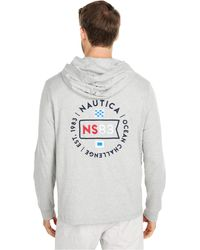 Nautica - Hooded T-shirt - Lyst
