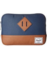 Herschel Supply Co. - Heritage Sleeve For Ipad Mini (black) Computer Bags - Lyst