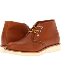 Red Wing - Work Chukka (copper Rough & Tough) Men's Lace-up Boots - Lyst