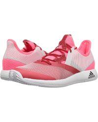 the latest f0b93 6f2b7 adidas - Adizero Defiant Bounce (flash Redwhitescarlet) Womens Tennis  Shoes