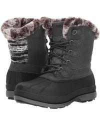 Propet - Lumi Tall Lace (brown) Women's Boots - Lyst