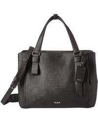 Tumi Varek Pearl Tote Handbags - Black