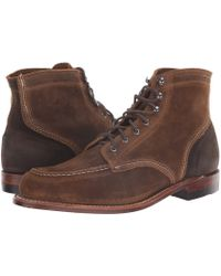 Wolverine - 1000 Mile 6 1940 Boot (dark Tan Suede) Men's Dress Lace-up Boots - Lyst