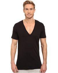 2xist - 2(x)ist Pima Slim Fit Deep V-neck T-shirt T Shirt - Lyst