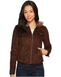 Scully - Britney Fun Soft Faux Jacket (brown) Women's Coat - Lyst