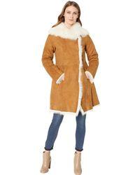 UGG - Vanesa Toscana Shearling Coat (chestnut) Women's Coat - Lyst