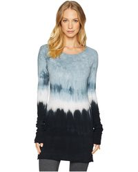 Hard Tail - Long Skinny Tee (ombre Wash 3) Women's T Shirt - Lyst