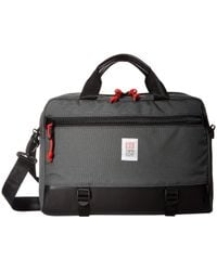 Topo Commuter Briefcase - Black