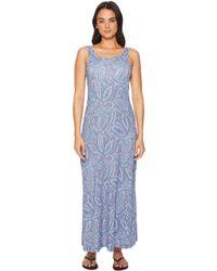 Columbia - Freezertm Maxi Dress (night Tide Mosaic Print) Women's Dress - Lyst