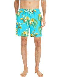 Tommy Bahama Naples Nassau Blooms Swim Trunks - Blue