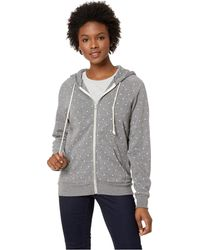 Alternative Apparel - Printed Adrian Hoodie (eco Grey Stars) Women's Sweatshirt - Lyst