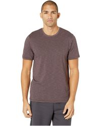 Toad&Co Tempo Short Sleeve Crew - Brown