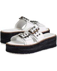Diba True Derby Shoe - White