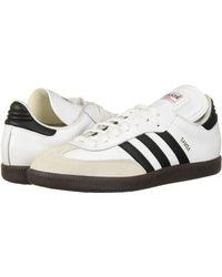 adidas Originals Performance Samba Classic Indoor Soccer Shoe - White