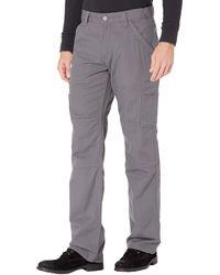 Ariat Fr M5 Slim Duralight Stretch Canvas Straight Leg Pants - Gray