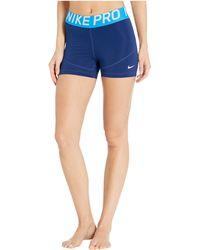 Nike Pro Shorts 3 - Blue