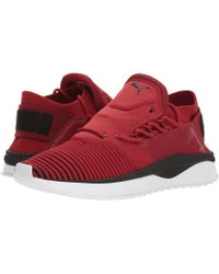 PUMA - Tsugi Shinsei Evoknit (red Dahlia/ Black/ White) Men's Shoes - Lyst
