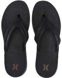 Hurley - Lunar Leather Sandal - Lyst