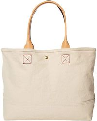 J.Crew Washed Canvas Large Tote - Natural