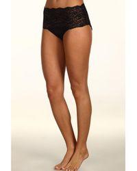 Hanky Panky - Silky Skin High Rise Panty (mocha) Women's Underwear - Lyst