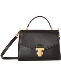 7dea5717f548 Tory Burch - Juliette Small Top-handle Satchel (ruby Red) Satchel Handbags -