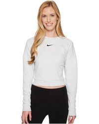 Nike - Dry Long Sleeve Crop Training Top - Lyst