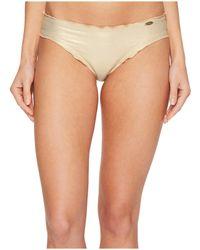 Luli Fama - Cosita Buena Wavey Full Bikini Bottom (gold Rush) Women's Swimwear - Lyst