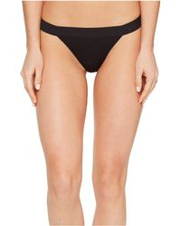 DKNY - Classic Cotton Tailored Thong - Lyst
