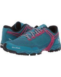 Salewa Lite Train K Shoe - Blue