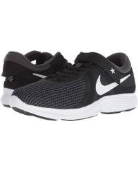 Nike - Revolution 4 Flyease (ocean Bliss/white/glacier Blue/solar Red) Women's Running Shoes - Lyst