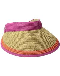 San Diego Hat Company | Ubv047 Visor With Contrast Color Stripe And Adjustable Back | Lyst