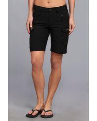 Fjallraven - Nikka Short (black) Women's Shorts - Lyst