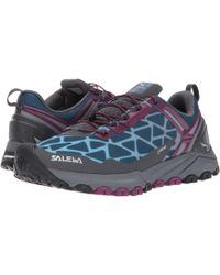 Salewa - Multi Track Gtx (charcoal/ming Green) Women's Shoes - Lyst