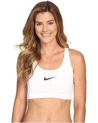 Nike - Pro Classic Swooshtm Sports Bra (light Concord/black) Women's Bra - Lyst