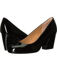 Söfft - Tamira (black Kid Suede) Women's 1-2 Inch Heel Shoes - Lyst