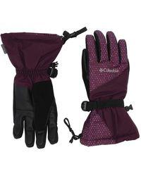 Columbia Whirlibirdtm Gloves - Purple