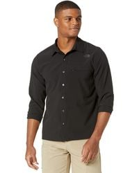 The North Face First Trail Upf Long Sleeve Shirt - Black