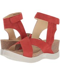 Fly London - Weel177fly (scarlet Cupido) Women's Shoes - Lyst
