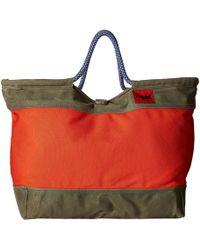 Mountain Khakis Market Tote (harvest) Tote Handbags - Red