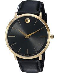 Movado - Ultra Slim - 0607087 (black) Watches - Lyst
