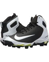 Nike - Alpha Huarache Keystone Mid (white/black/white/wolf Grey) Men's Cleated Shoes - Lyst