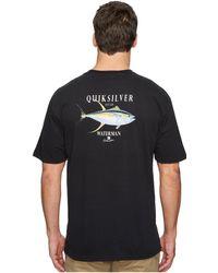 Quiksilver   Golder Session Short Sleeve Tee   Lyst