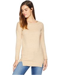 Bishop + Young - Side Stitch Sweater (camel) Women's Sweater - Lyst