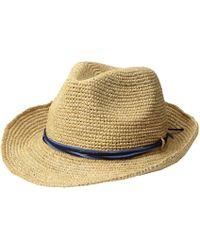 9115f34b7 Hat Attack Raffia Crochet Cowgirl With Sparkle Trim (natural/gold ...