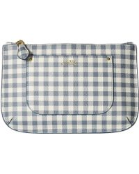 Lauren by Ralph Lauren Belt Bag (blue Mist Gingham) Belts