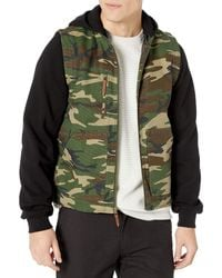 Brixton Abraham Standard Fit Convertible Jacket - Multicolor