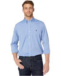 Polo Ralph Lauren - Poplin Sport Shirt - Lyst